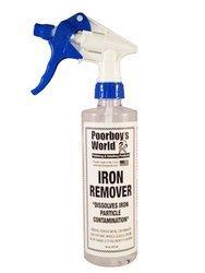 Poorboy's World Iron Remover 473ml do usuwania zanieczyszczeń metalicznych
