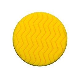 RRC Classic Zigzag 150mm żółta gąbka polerska