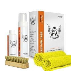 RRC Leather Cleaner Soft Box zestaw do czyszczenia skóry
